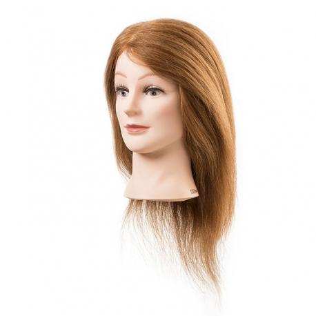 845be58e2 Cvičná hlava Emily s přírodními vlasy 35 - 40 cm - Salon Komplet